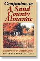 Companion to A Sand County Almanac: Interpretive & Critical Essays